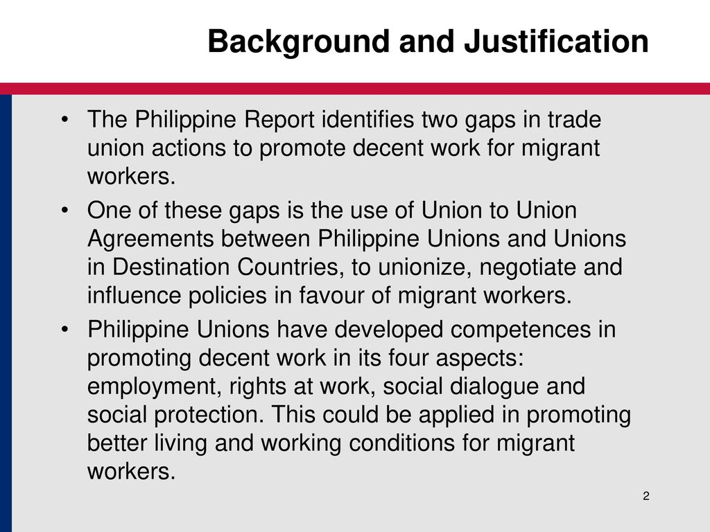 Union To Union Agreements To Improve Working And Living Ppt Download