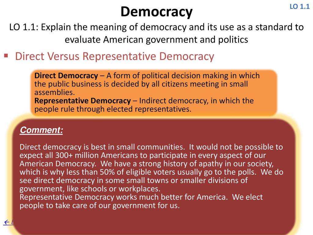 4 Democracy ...