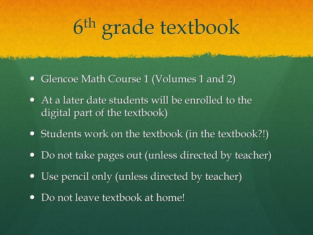 Math 6th –Ms  Ojeda Room ppt download
