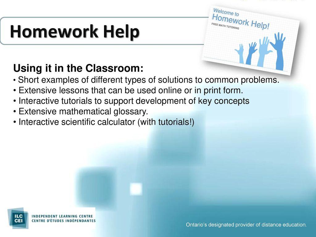 Homework Help Pilot Expansion Project - ppt download