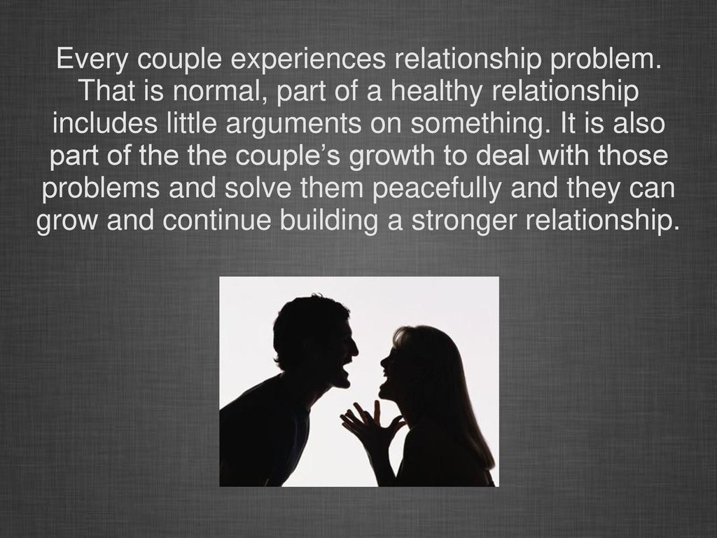 Tips On How To Overcome Relationship Problems - ppt download