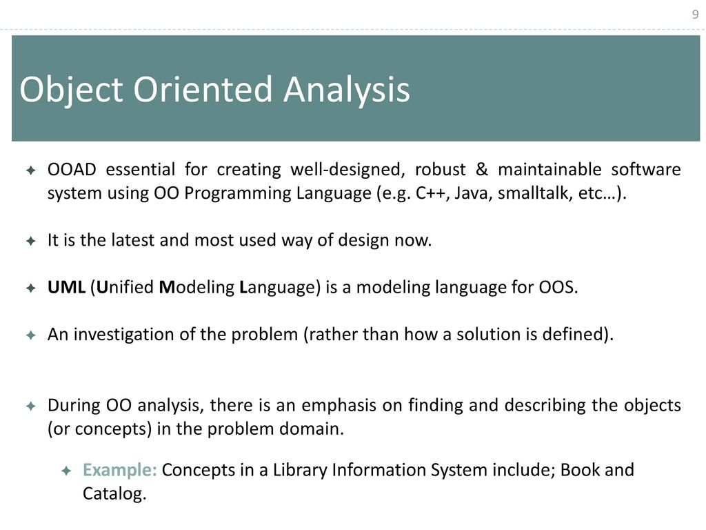 Chapter 6 Structured Vs Object Oriented Analysis And Design Ppt Download