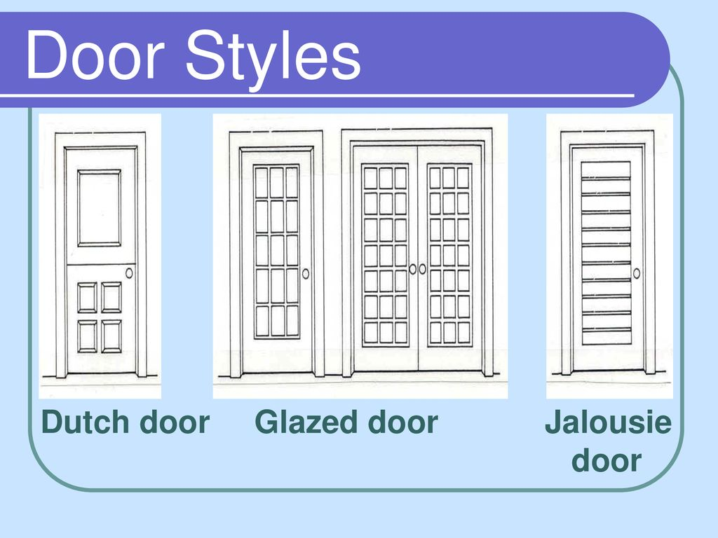 Draw A Picture Of The Front Your House Ppt Download Dutch Door Wiring Diagram 67 Styles Glazed Jalousie