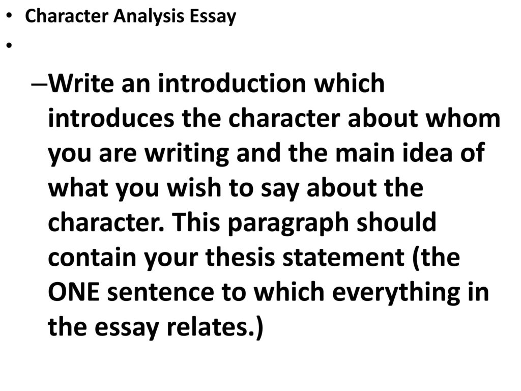 Essay On English Teacher  Teaching Essay Writing To High School Students also High School Personal Statement Sample Essays Character Analysis Essay  Ppt Download Sample Of Research Essay Paper