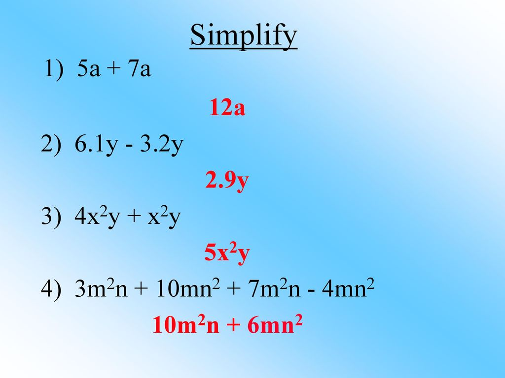 The Distributive Property - ppt download