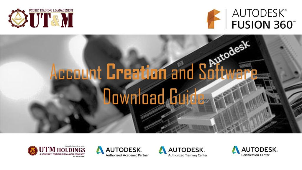 Account Creation and Software Download Guide - ppt download