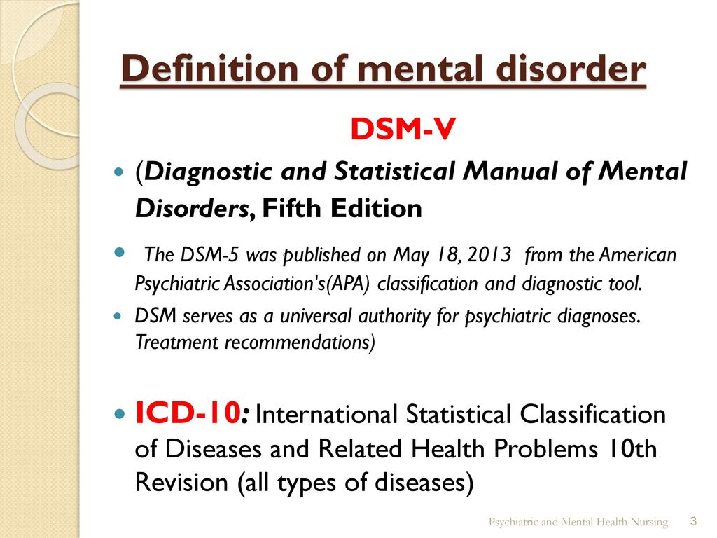 psychiatric mental health nursing - ppt download