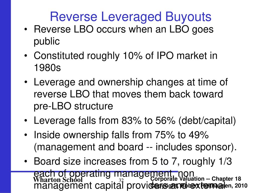An LBO (Private Equity) Model - ppt download
