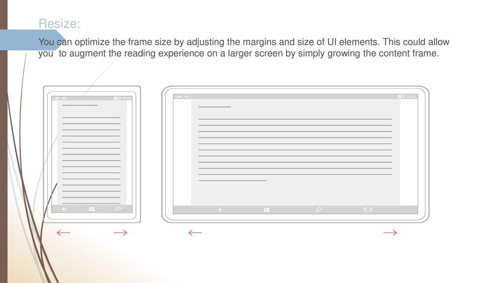 UWA Responsive design  - ppt download
