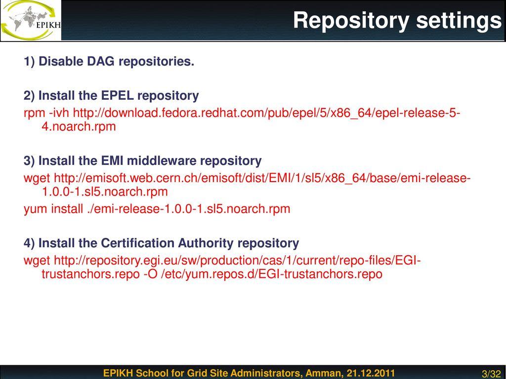 Httpd Repository Yum