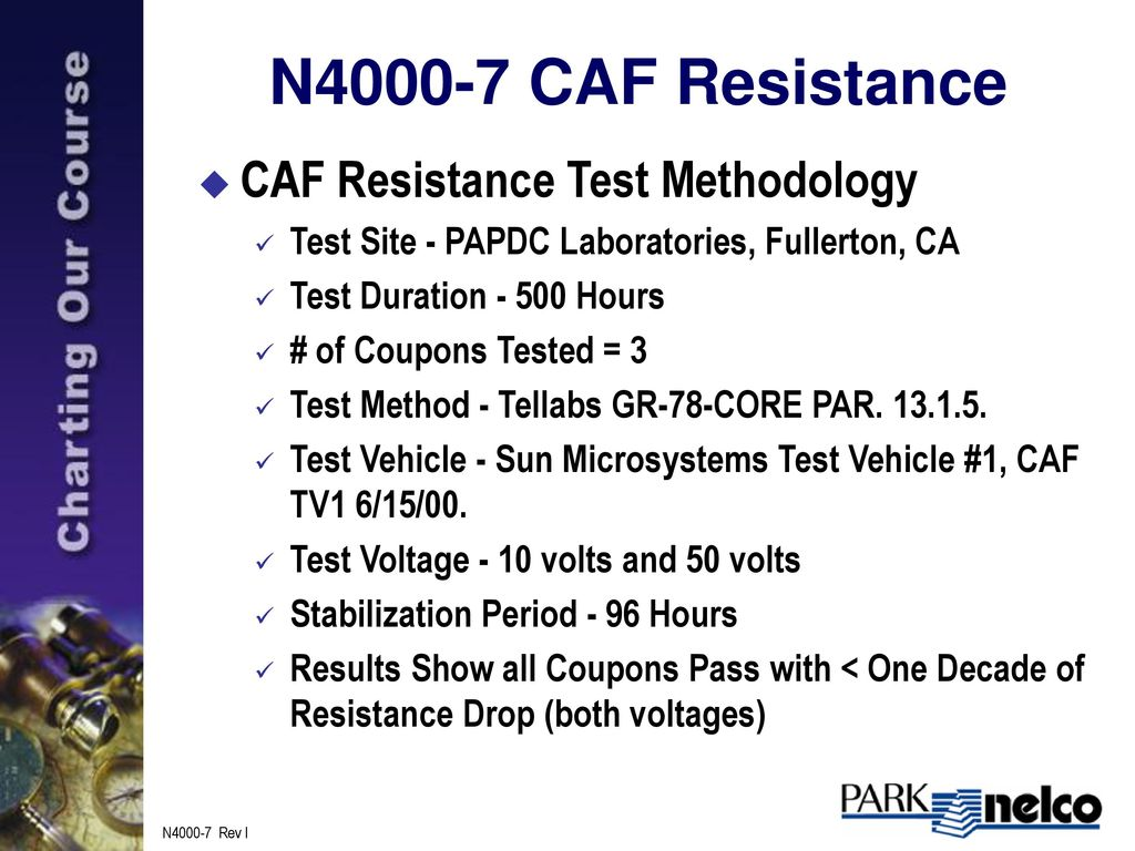 CAF Resistant, Low CTE FR-4 Dielectric Substrate - ppt download