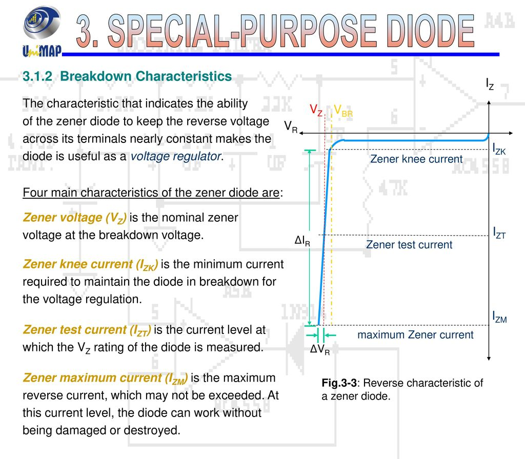 3 Special Purpose Diode Ppt Download Zener Breakdown Phenomen In Semiconductor Junction