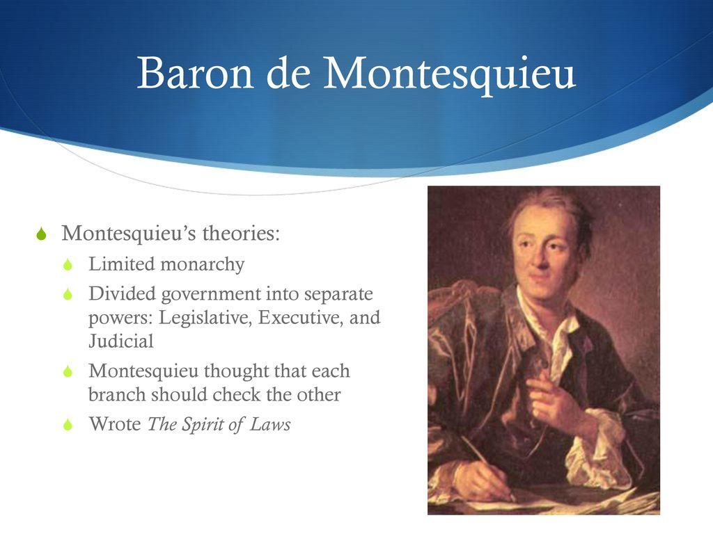 Baron de montesquieu wife sexual dysfunction