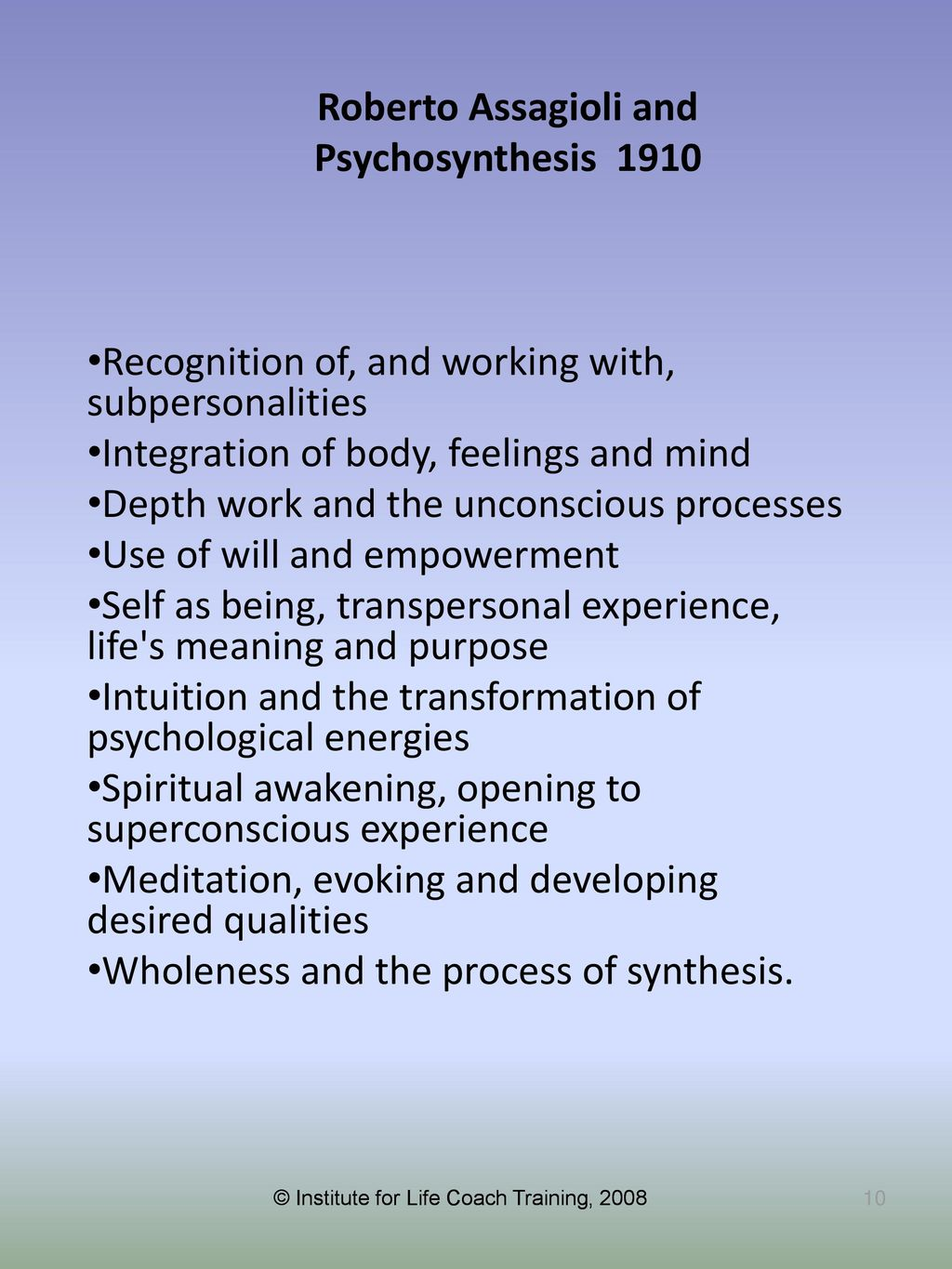 Transpersonal Coaching: Integrating Brain, Body, and Being