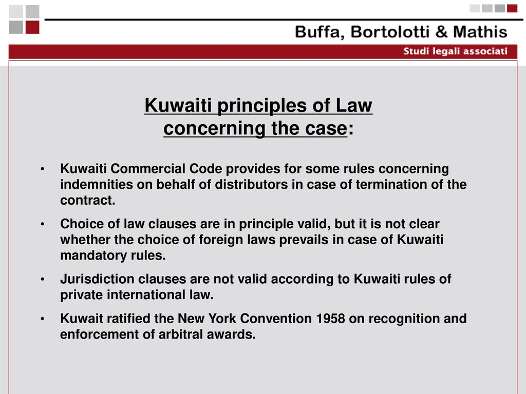 THE VIEW OF A EUROPEAN LAWYER DEALING WITH ARAB COUNTRIES - ppt download