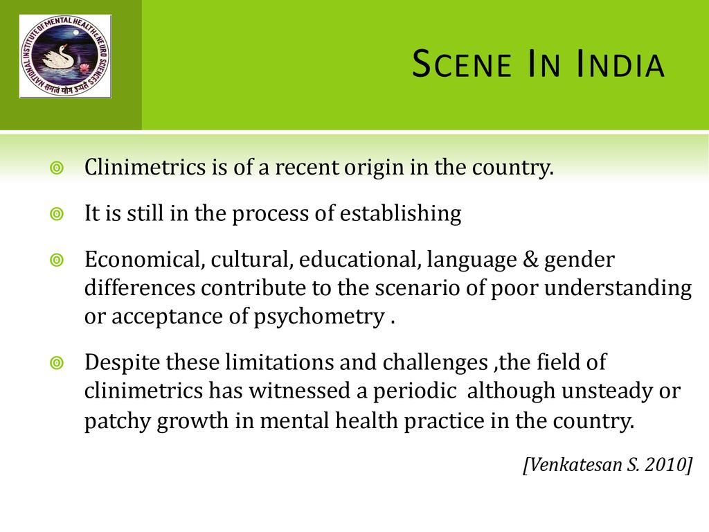 PSYCHODIAGNOSTICS: 'CRUTCHES FOR CLINICIANS' - ppt download