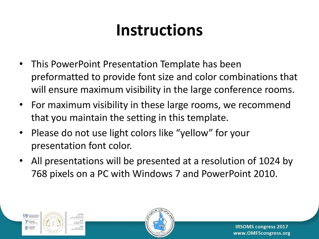 Your presentation paper title ppt download 2 instructions this powerpoint presentation template has been preformatted to provide font size toneelgroepblik Gallery