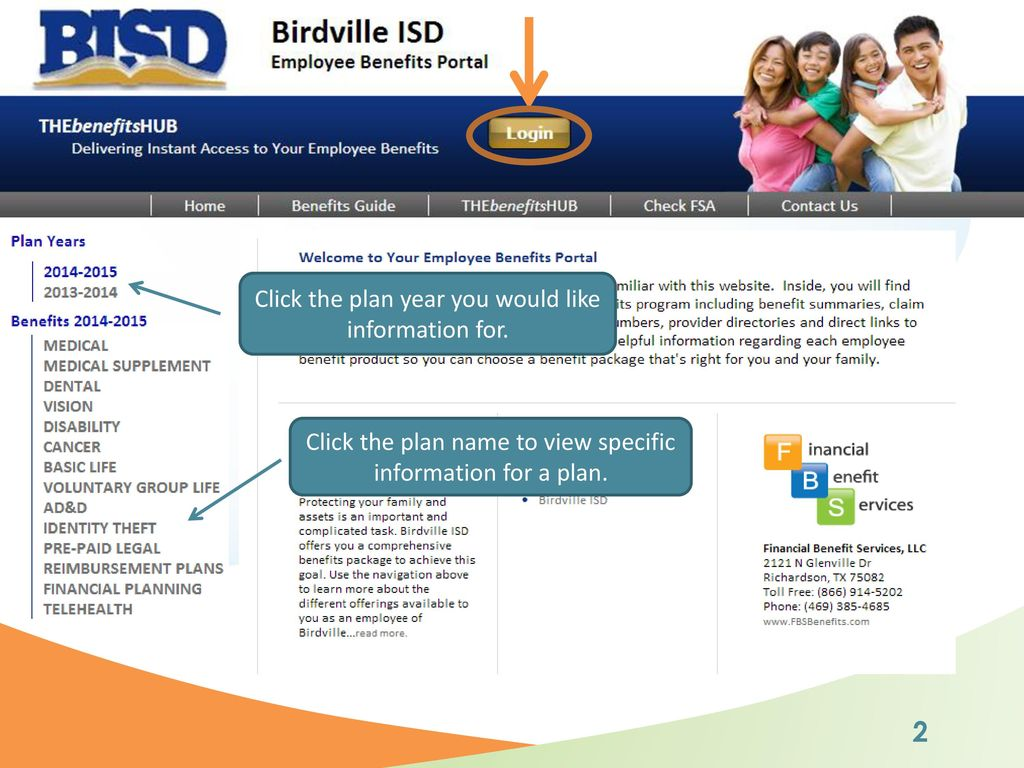 Birdville Isd New Hire Enrollment Walkthrough Ppt Download