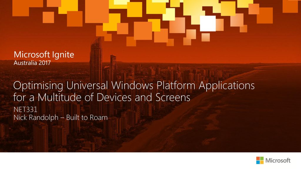 Microsoft Ignite 19 2018 2 35 Am Ppt Download