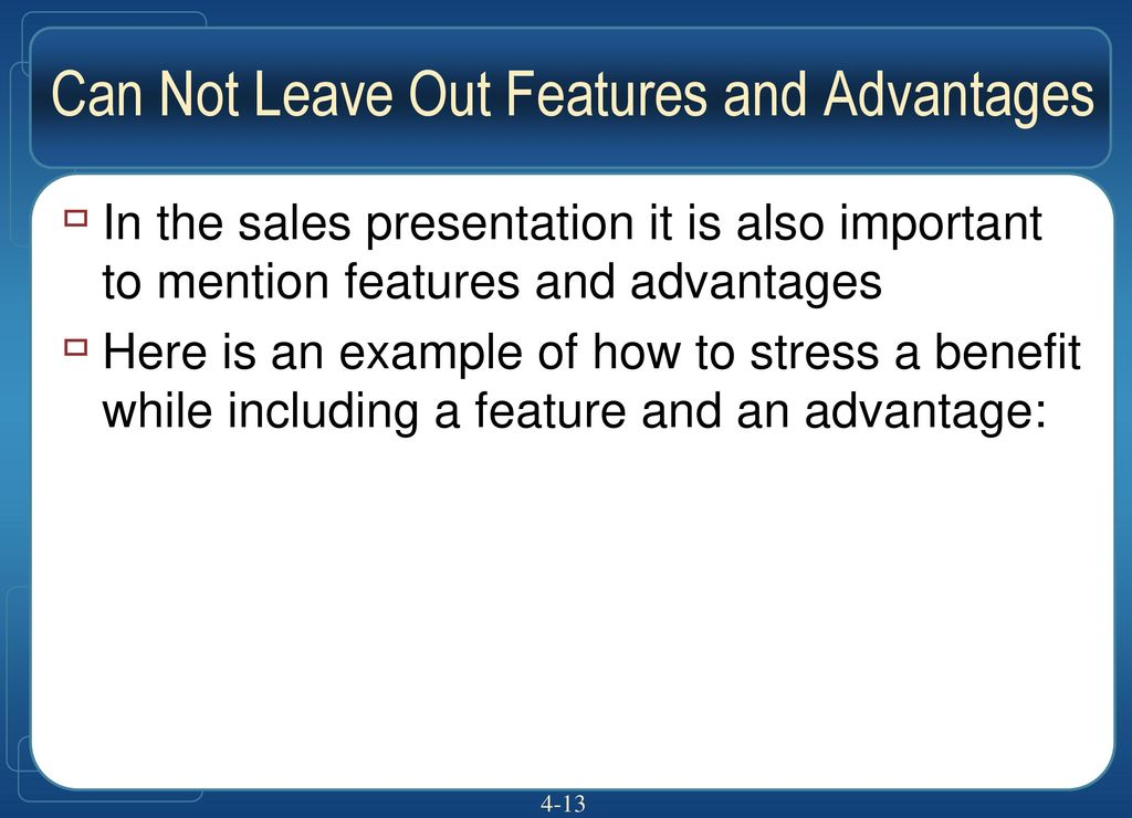 ch 4 the psychology of selling why people buy ppt download