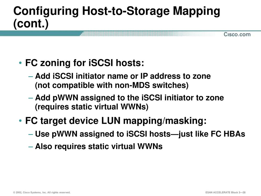 Cisco iSCSI Products Cisco iSCSI Products Introduction - ppt