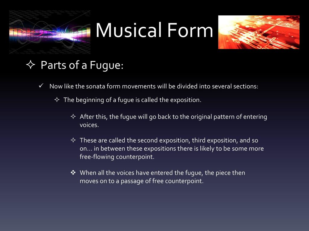 Introduction to Music: Musical Forms & Styles - ppt download