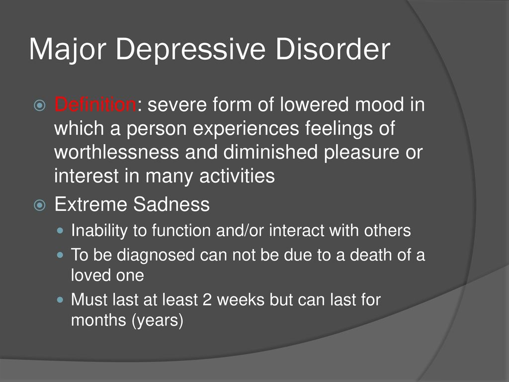 mental illness unit mood disorders. - ppt download