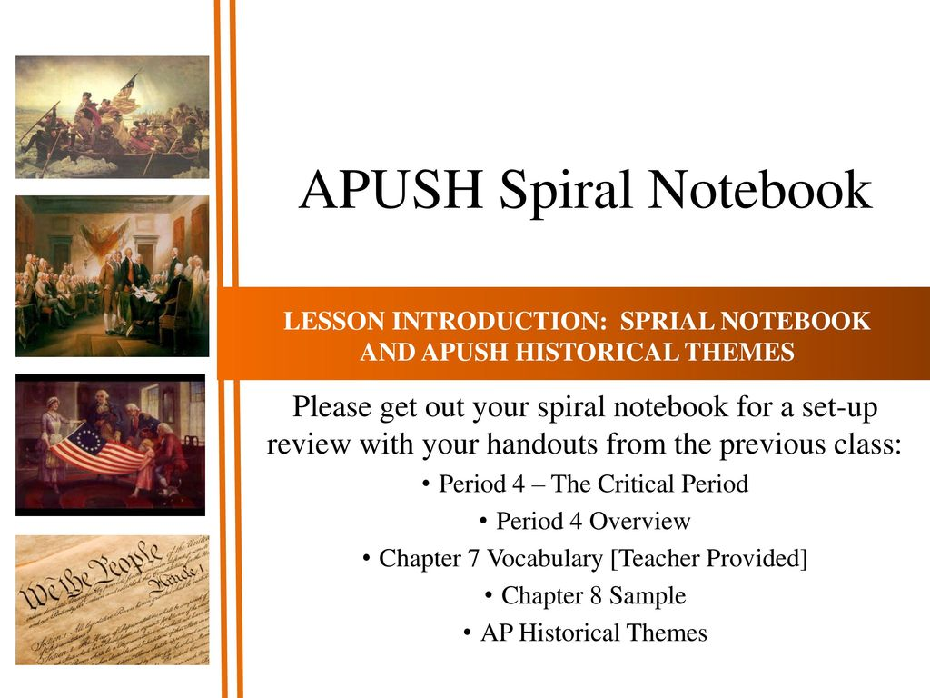 APUSH Historical Themes - ppt download