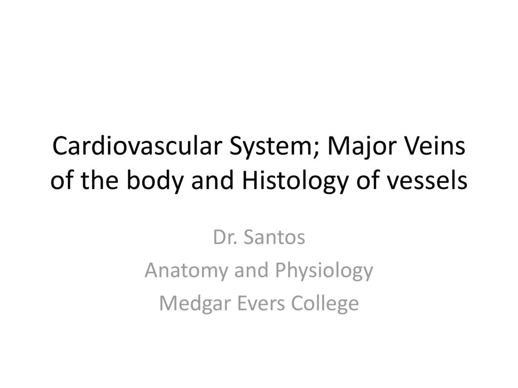 Dr. Santos Anatomy and Physiology Medgar Evers College - ppt download