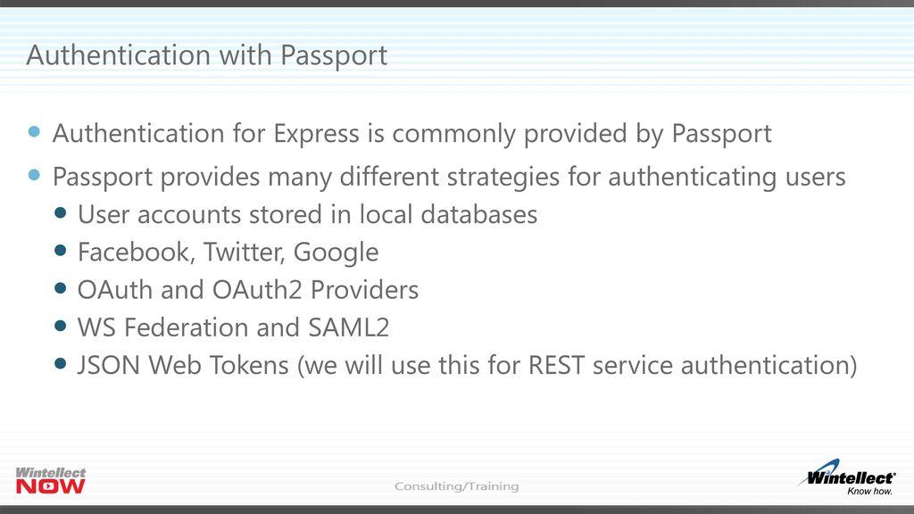 Node js Express Web Services - ppt download