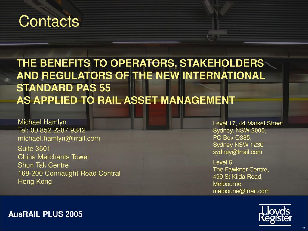 Asset management iso 55001: the sustainable business strategy for ope….