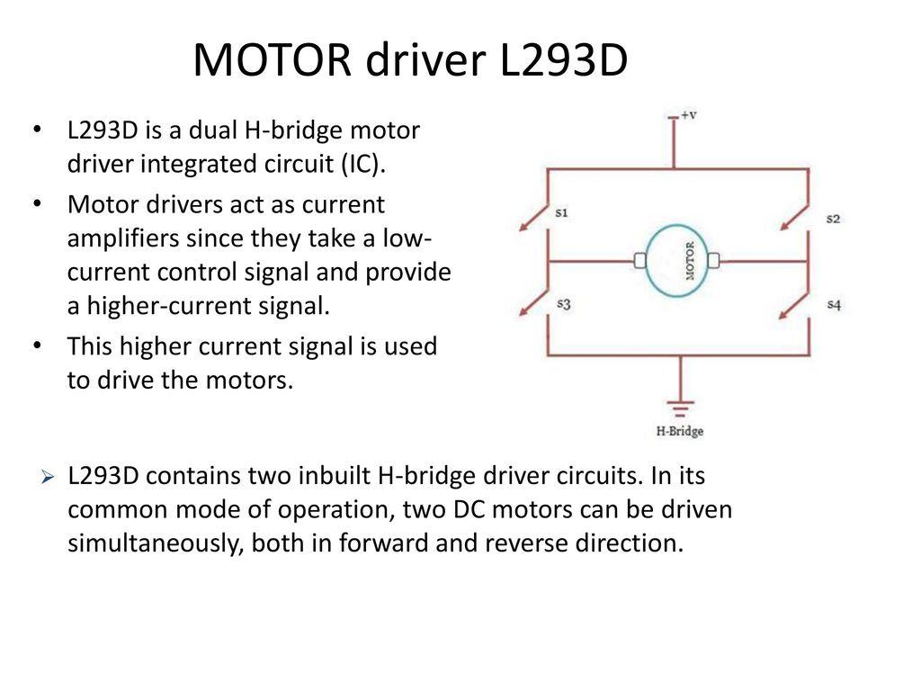 Arduino Four Quadrant Dc Motor Control Ppt Download L293d Circuit Driver Is A Dual H Bridge Integrated Ic