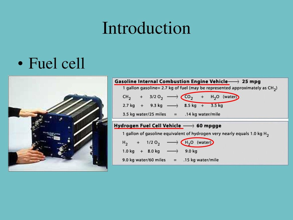 How Does A Modern Fuel Cell Work Ppt Download Further Hydrogen Oxygen On Car Engine Diagram Introduction
