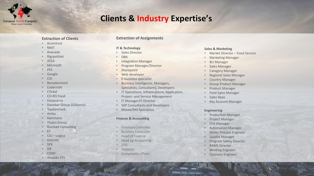 EuropeanSearchCompany - ppt download