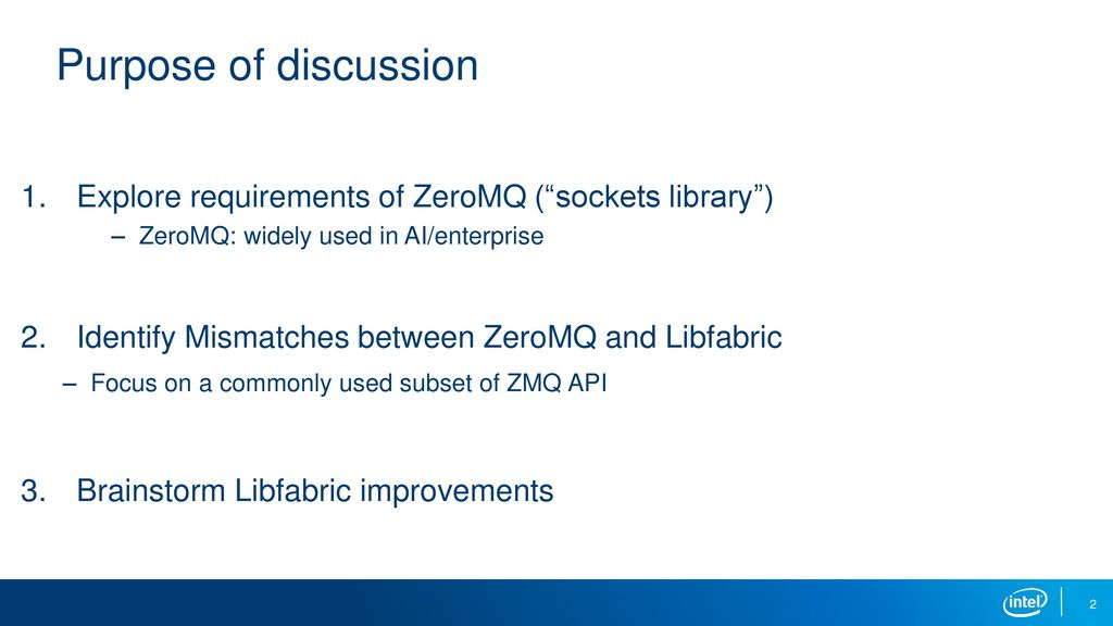 ZeroMQ-ofi sketch Kayla Seager  - ppt download