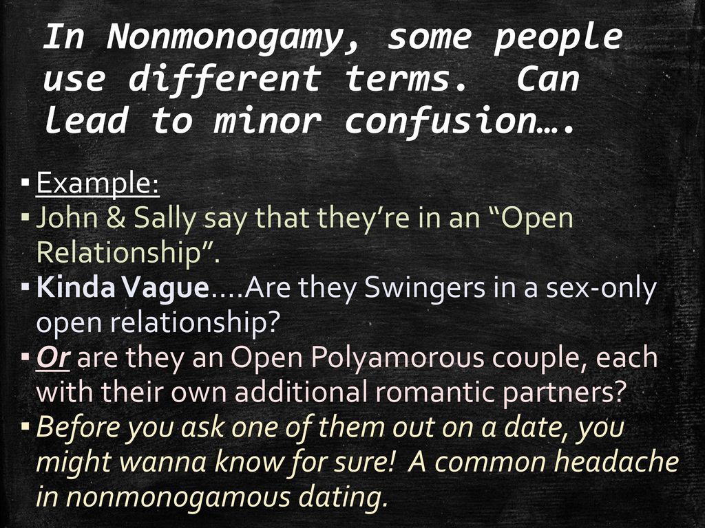 ethical non monogamy dating