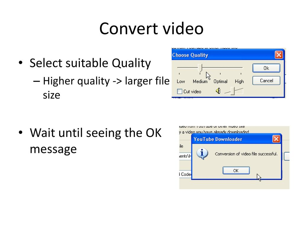 Insert youtube video into - ppt download