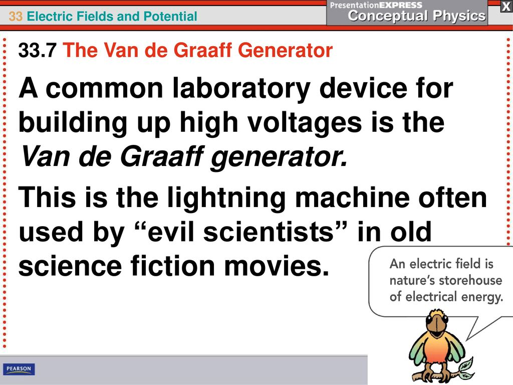 An electric field is a storehouse of energy. - ppt download