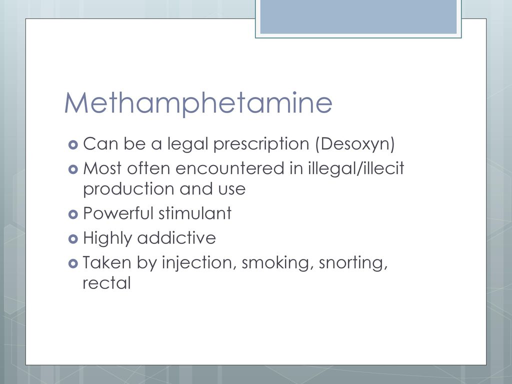 Clandestine Drug Labs/Meth - ppt download