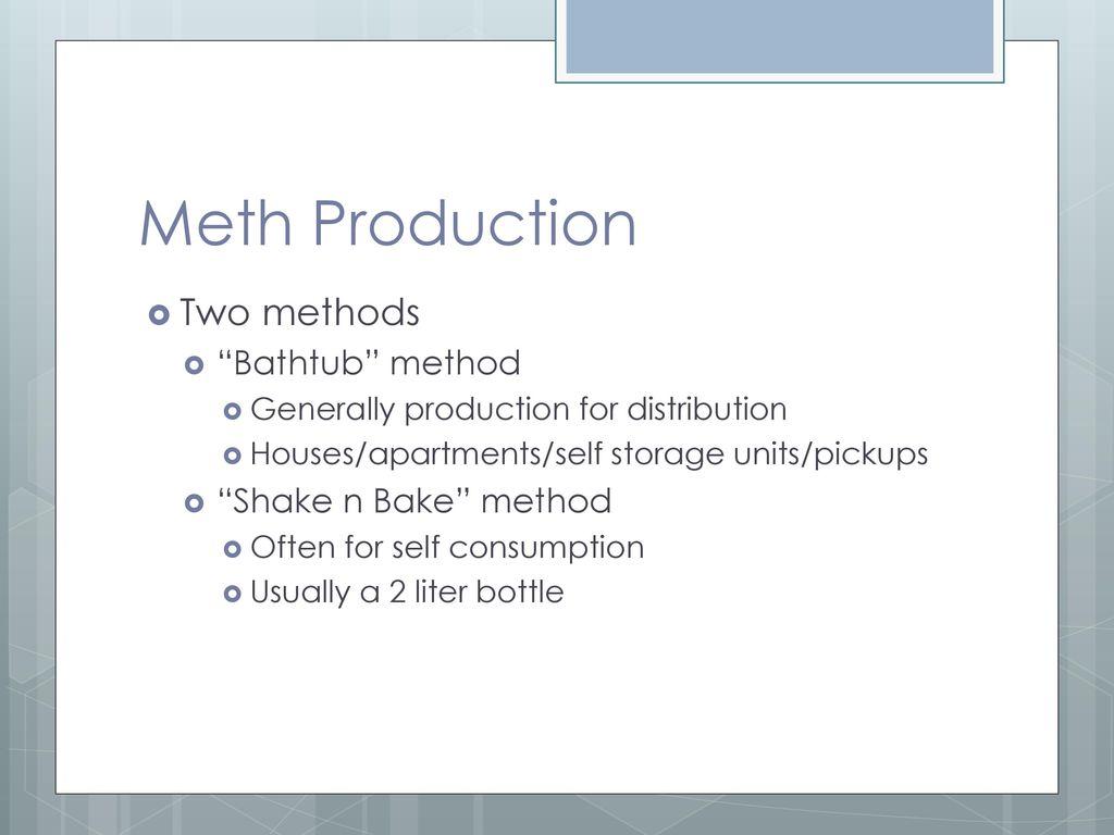 Clandestine Drug Labs/Meth - ppt download