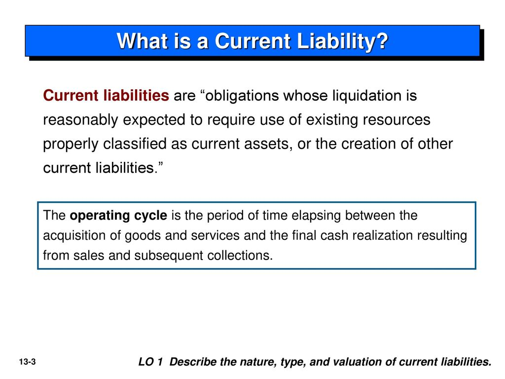 What is a liability 95
