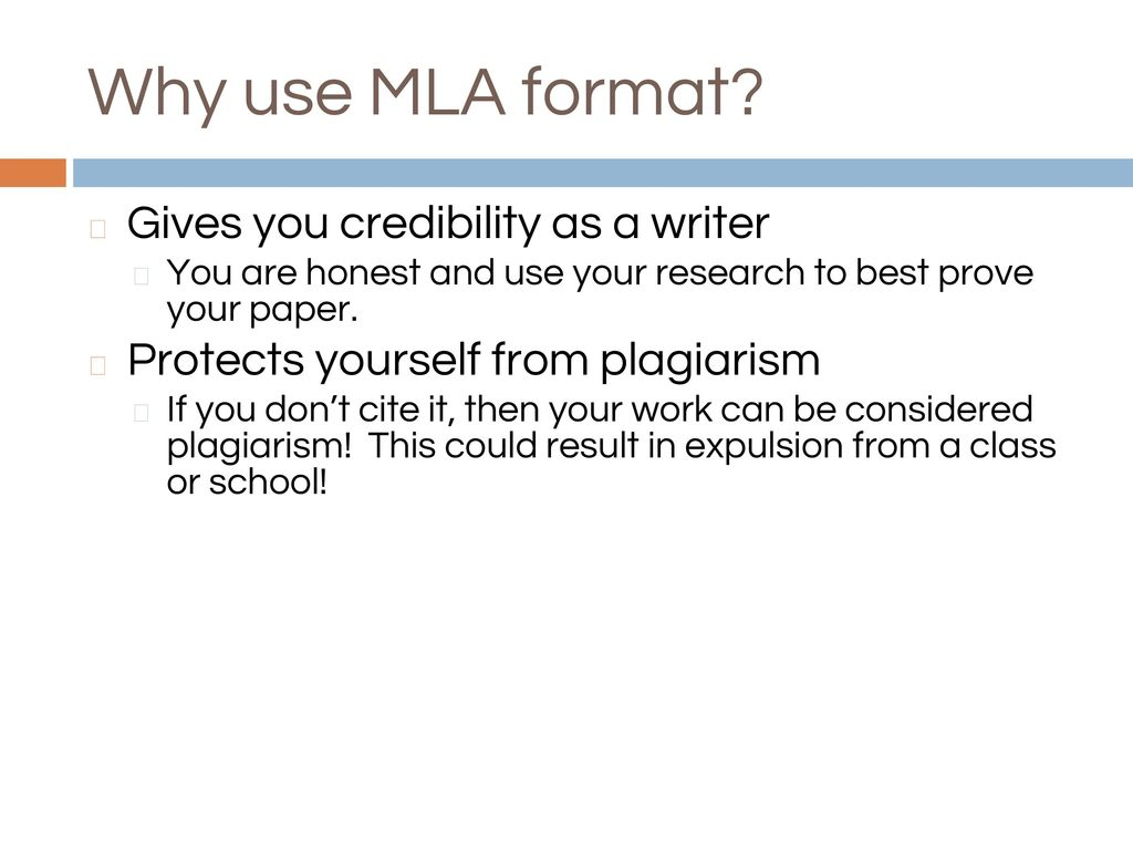 mla format page layout