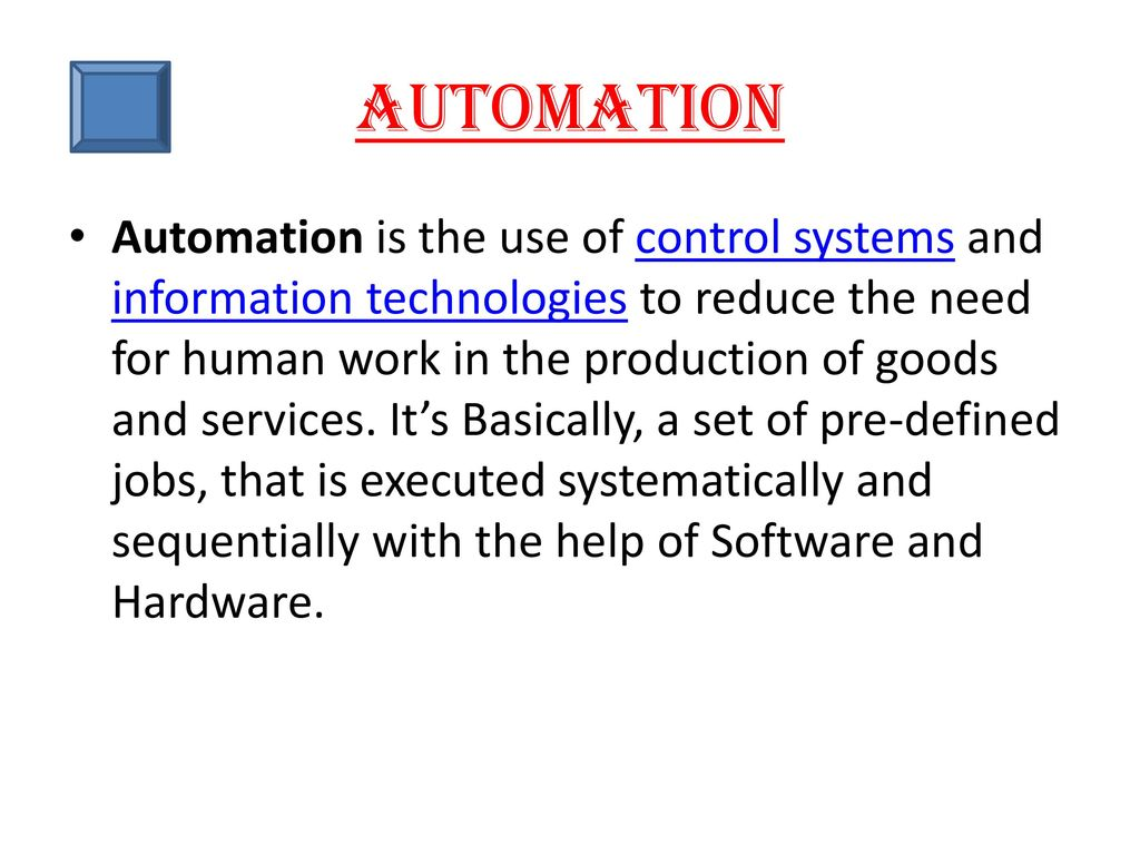 PRESENTATION ON AUTOMATION,PLC AND SCADA - ppt download