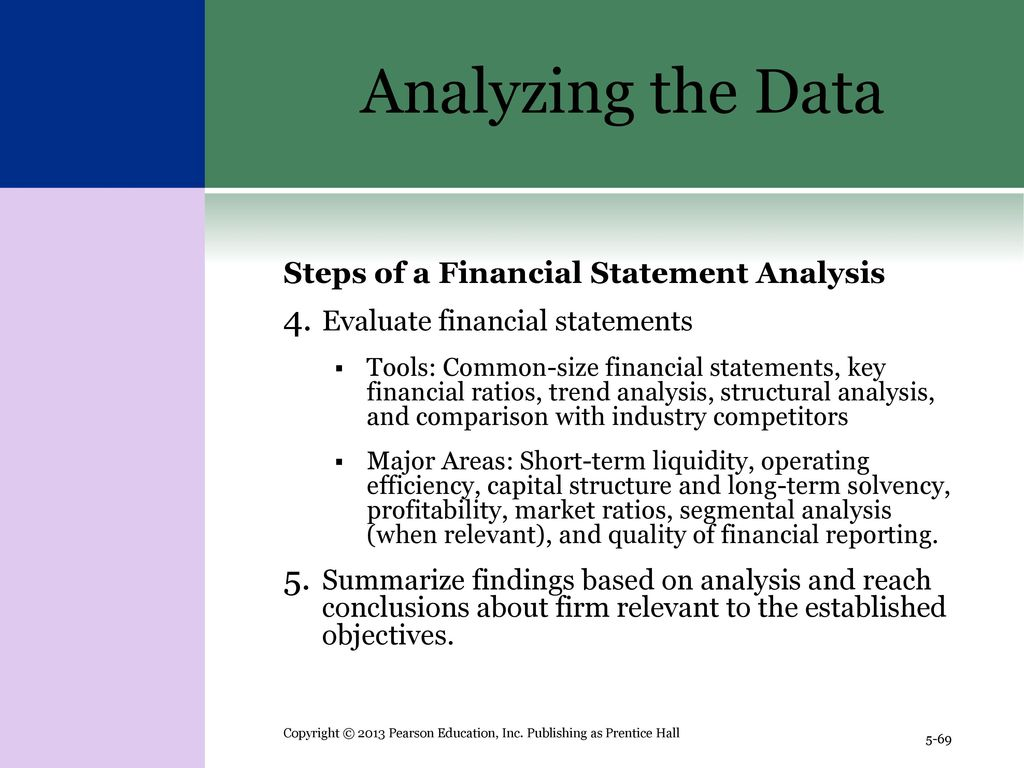Chapter 5 The Analysis of Financial Statements - ppt download