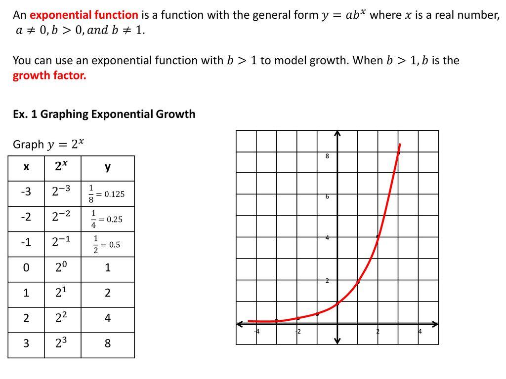 8-1 Exploring Exponential Models - ppt download