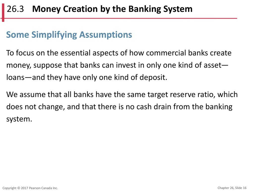 26.3 Money Creation by the Banking System