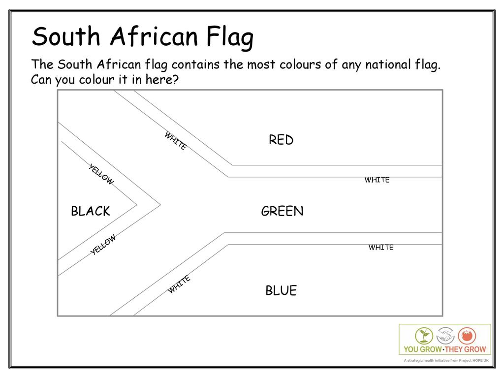 South African Flag The South African flag contains the most colours ... 70e0368b9