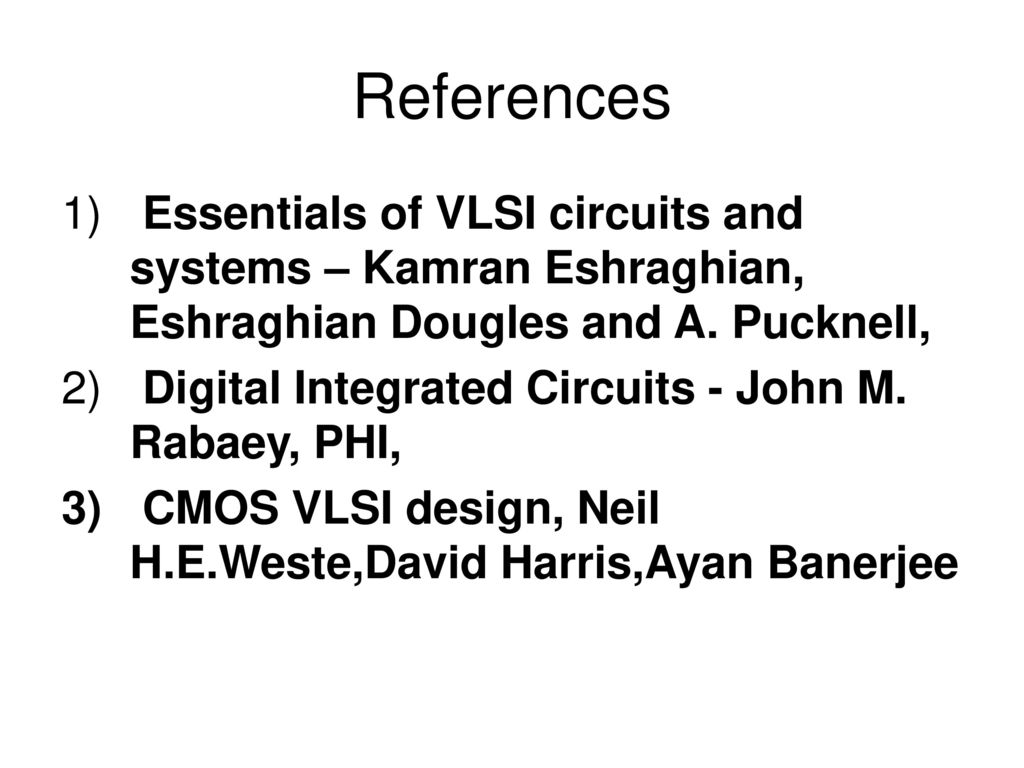 essentials of vlsi circuits and systems by kamran eshraghian pdf