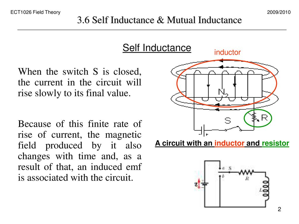 Lecture 3 6 Self Inductance And Mutual Ppt Download Pb30 Wiring Diagram 2 36