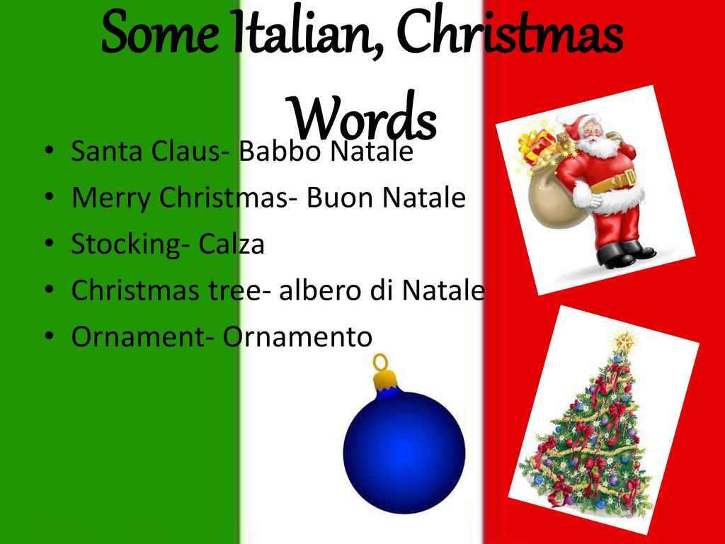 Christmas in Italy Buon Natale!. - ppt download